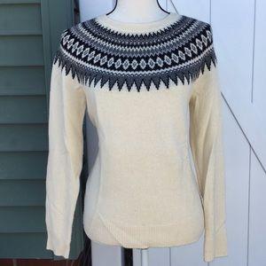 Vineyard Vines Fair Isle Nordic Sweater Size XS